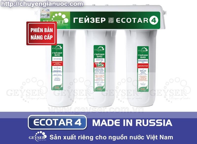 Máy lọc nước nano Ecotar 4 model 2017