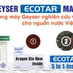 Cách xác định máy lọc nước nano Geyser chính hãng