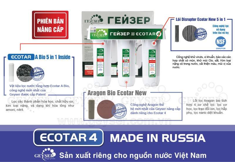 Nga là quốc gia đi đầu trong công nghệ chế tạo máy lọc nước nano không dùng điện hiện nay
