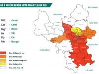 Bản đồ ô nhiễm Asen tại Hà Nội
