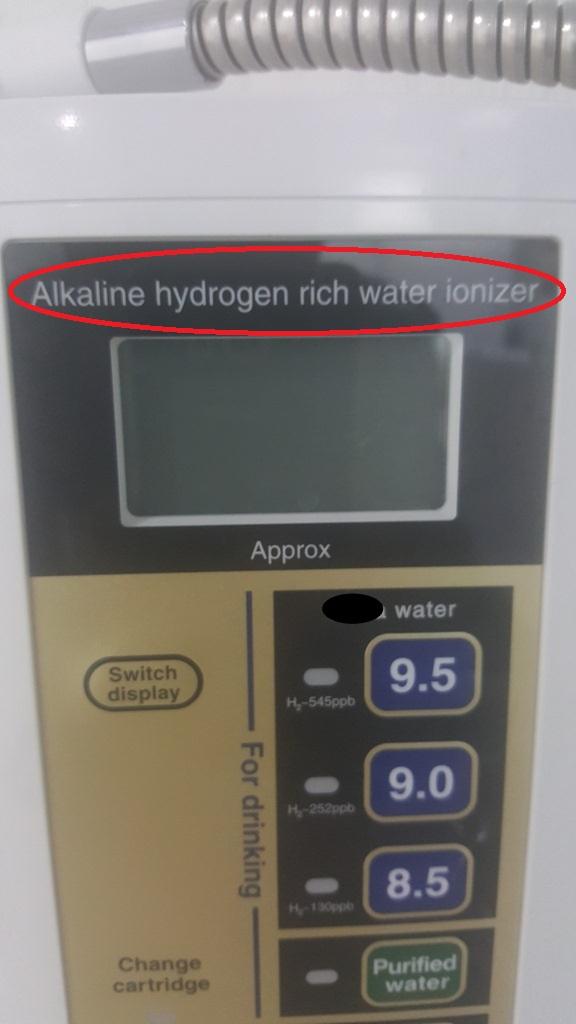 may tao nuoc ion kiem giau hydro