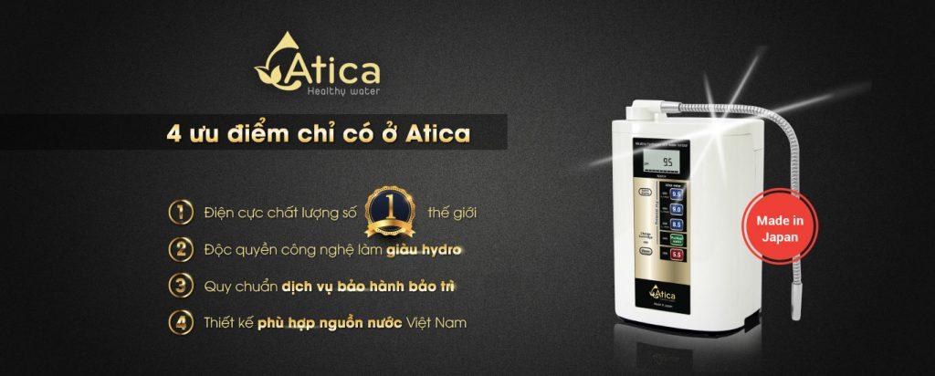 máy lọc nước điện giải Atica