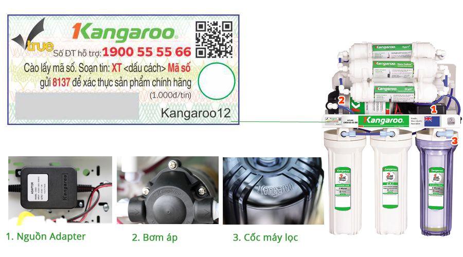 Máy lọc nước Ro Kangaroo chính hãng