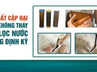 Dịch vụ thay lõi lọc nước ở Hà Nội, TP.HCM ở đâu uy tín?