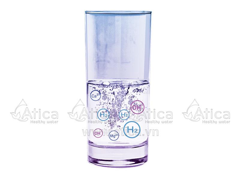 Nước uống điện giải giàu hydro