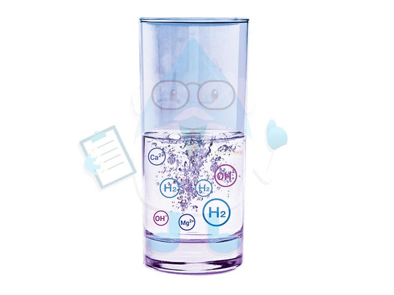 Nước ion kiềm giàu hydro mang lại nhiều lợi ích cho sức khỏe