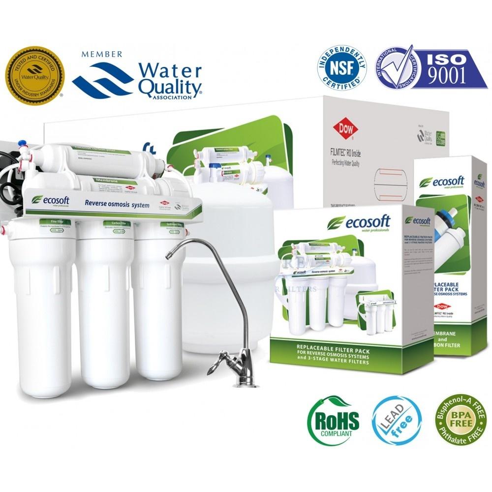 Chân dung máy lọc nước Ecosoft nhập khẩu từ Đức