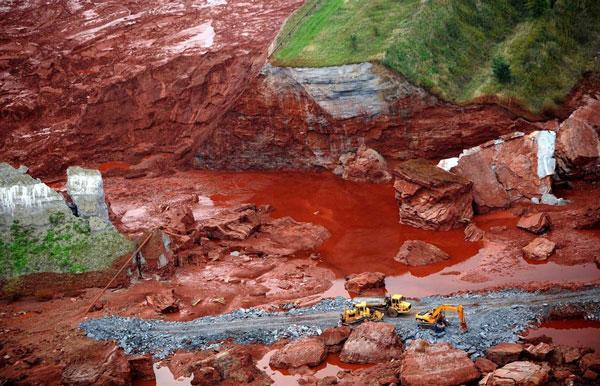 Nguồn nước nhiễm kim loại nặng