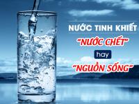 Bạn đã biết gì về nước tinh khiết?