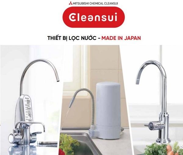 Máy lọc nước Cleansui