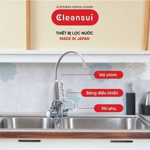 Máy lọc nước tạo ion kiềm Cleansui